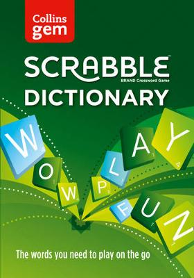 Picture of Collins Scrabble Dictionary Gem Edition : The Words to Play on the Go