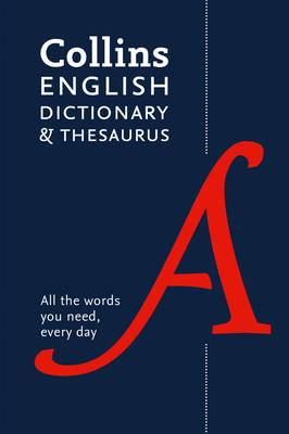 Picture of Collins English Dictionary and Thesaurus: All-In-One Support for Everyday Use