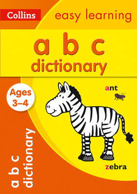 Picture of ABC Dictionary Ages 3-4 : Ideal for Home Learning