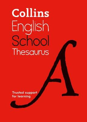 Picture of Collins School Thesaurus : Trusted Support for Learning