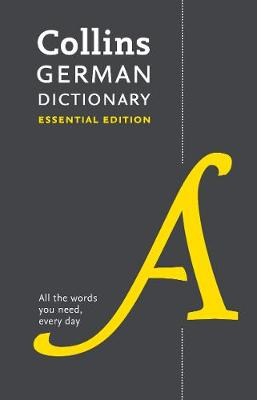 Picture of Collins German Dictionary Essential edition : Bestselling Bilingual Dictionaries