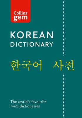 Picture of Collins Korean Gem Dictionary : The World's Favourite Mini Dictionaries