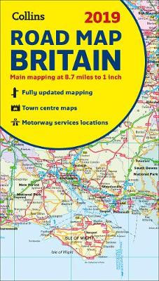 Picture of 2019 Collins Map of Britain