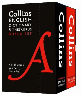 Picture of Collins English Dictionary and Thesaurus Boxed Set : All the Words You Need, Every Day
