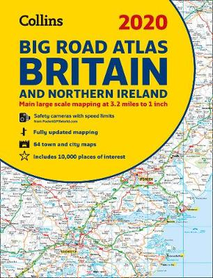 Picture of 2020 Collins Big Road Atlas Britain and Northern Ireland