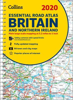 Picture of 2020 Collins Essential Road Atlas Britain and Northern Ireland