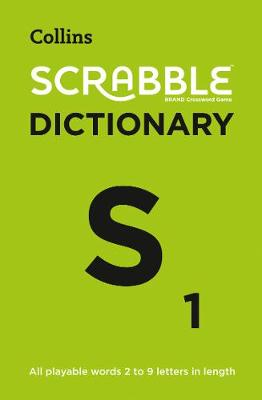 Picture of Collins Scrabble Dictionary : The Official Scrabble Solver - All Playable Words 2 - 9 Letters in Length