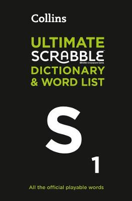 Picture of Collins Ultimate Scrabble Dictionary and Word List : All the Official Playable Words, Plus Tips and Strategy