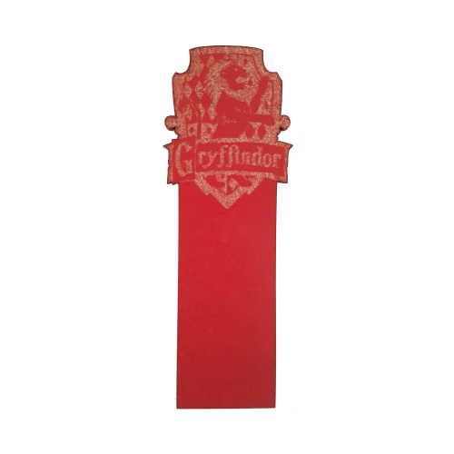 Picture of Harry Potter House Wooden Bookmark Gryffindor