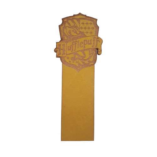 Picture of Harry Potter House Wooden Bookmark Hufflepuff