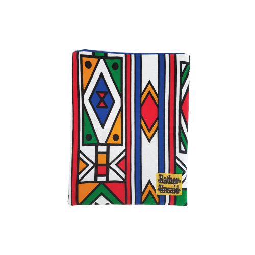 Picture of Book Sleeve - Colourful Tribal print (Paperback Books)