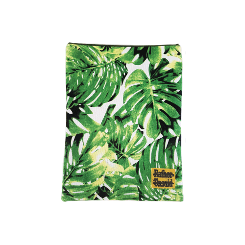 Picture of Book Sleeve - Bright green Leaves  (Trade Books)