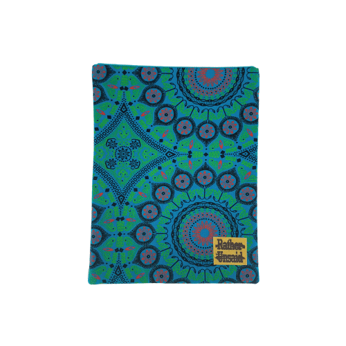 Picture of Book Sleeve - Blue and Green Mandala (Trade Books)