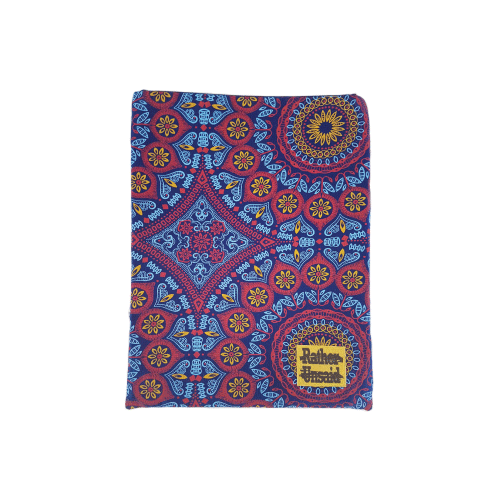 Picture of Book Sleeve - Blue and Red  Mandala  (Trade Books)