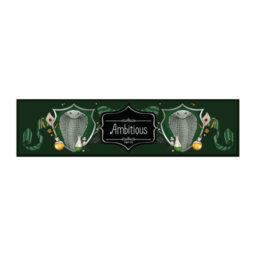 Picture of Harry Potter House Candle Slytherin