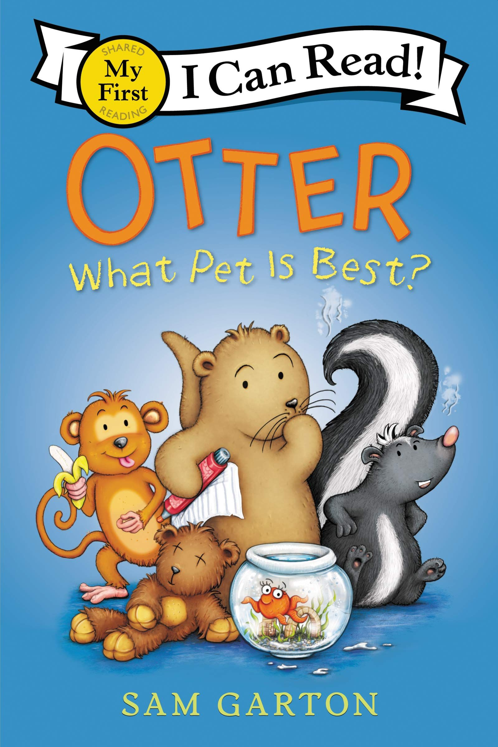 Picture of Otter: What Pet Is Best?