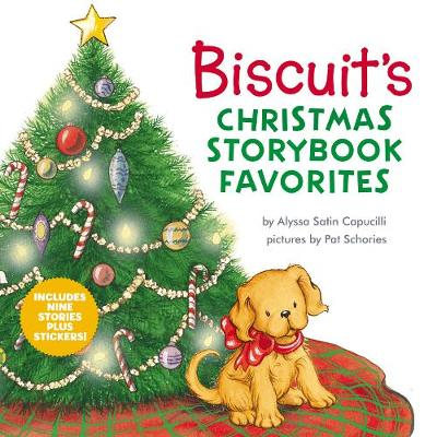 Biscuit's Christmas Storybook Favorites : Includes 9 Stories Plus Stickers!
