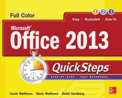 Microsoft (R) Office 2013 QuickSteps