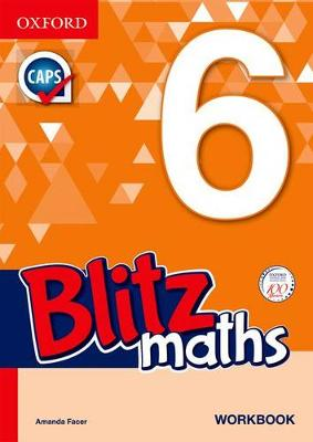 Picture of Blitz Mental Maths Grade 6 Workbook
