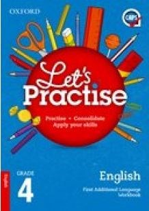 Picture of Oxford Let's Practise English First Additional Language Grade 4 Practice Book