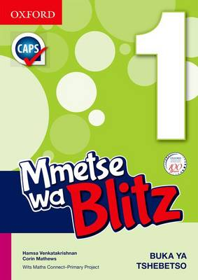 Picture of Blitz Maths: Blitz maths : Gr 1: Learner's book Gr 1: Learner's Book