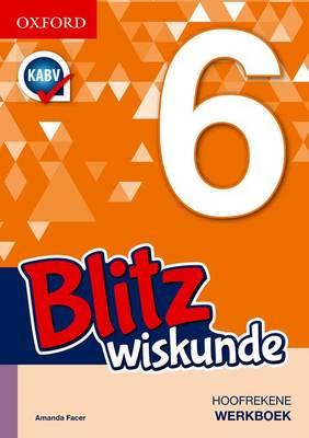 Picture of Blitz wiskunde: Gr 6: Werkboek
