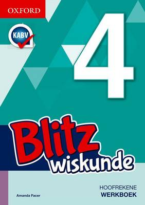 Picture of Blitz Wiskunde: Gr 4: Werkboek