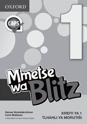 Picture of Blitz maths : Gr 1: Teacher's guide