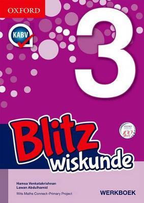 Picture of Blitz wiskunde: Gr 3: Leerdersboek