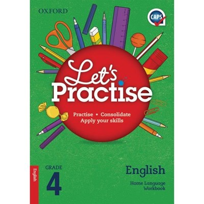Picture of Oxford Let's Practise English Home Language Grade 4 Workbook