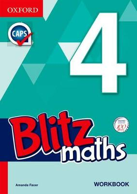 Picture of Blitz Mental Maths: Grade 4: Workbook