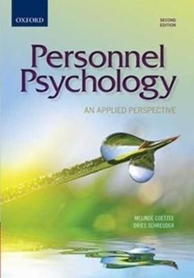 Picture of Personnel psychology : An applied perspective