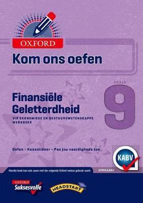 Picture of Kom Ons Oefen Finansiele Geletterdheid: Grade 9: Oefenboek