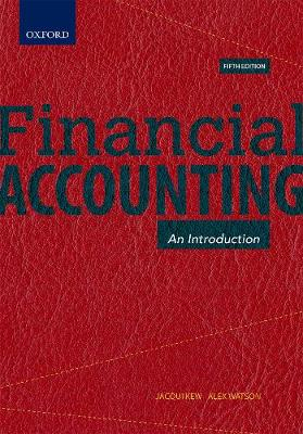 Picture of Financial Accounting : An Introduction