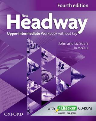 New Headway: Upper-Intermediate B2: Workbook + iChecker without Key : The world's most trusted English course