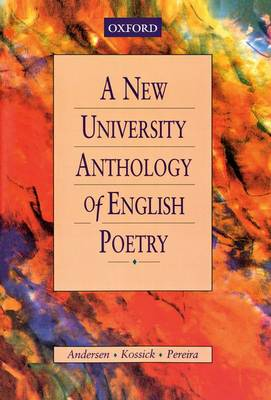 Picture of A new University anthology of English poetry