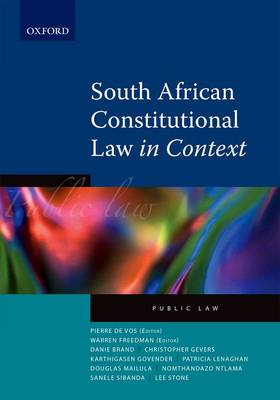 Picture of Constitutional law in context