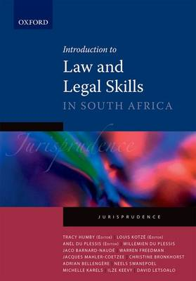 Picture of Introduction to law and legal skills : Vol 1