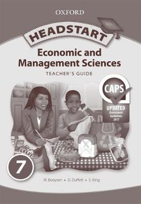 Picture of Headstart economic and management sciences CAPS: Gr 7: Teacher's book