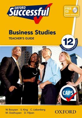 Picture of Oxford successful business studies: Gr 12: Teacher's guide