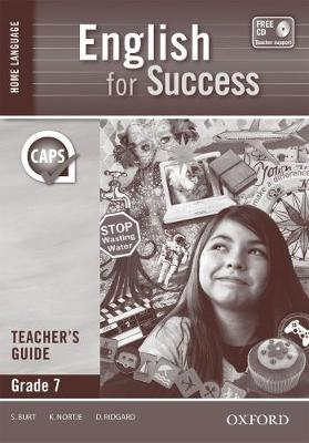 Picture of English for success CAPS: Gr 7: Teacher's book