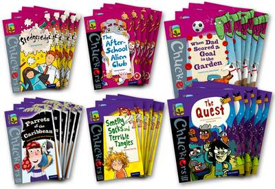 Oxford Reading Tree TreeTops Chucklers: Oxford Level 10-11: Pack of 36