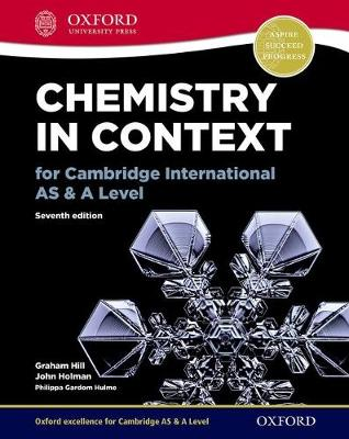 Picture of Chemistry in Context for Cambridge International AS & A Level
