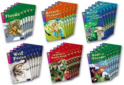 Oxford Reading Tree TreeTops Myths and Legends: Levels 10 and 11: Pack of 36