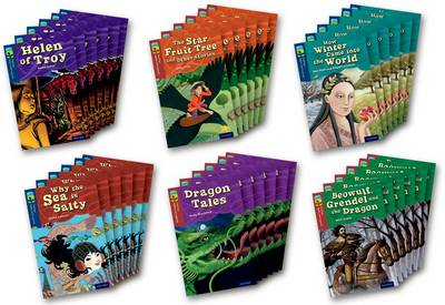 Oxford Reading Tree TreeTops Myths and Legends: Levels 14 and 15: Pack of 36