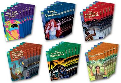 Oxford Reading Tree TreeTops Myths and Legends: Levels 16 and 17: Pack of 36