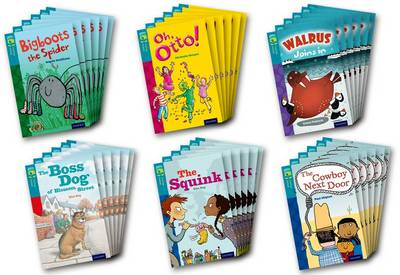 Oxford Reading Tree TreeTops Fiction: Level 9 More Pack A: Pack of 36