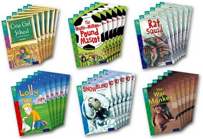 Oxford Reading Tree TreeTops Fiction: Level 16 More Pack A: Pack of 36