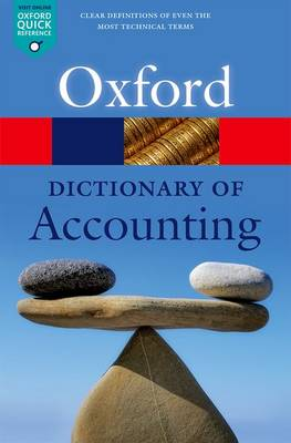 Picture of A Dictionary of Accounting