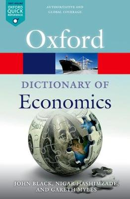 Picture of A Dictionary of Economics